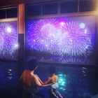 空間演出『湯船から見る窓のプロジェクションマッピング』 製品画像