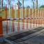 省スペース簡易型フェンスゲート「アコーディオンゲートBL46」 製品画像