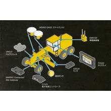 【Trimble Earthworks】モーターグレーダー 製品画像