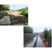 プラロードのレンタル事例 防災ダム事業 蓮池地区 製品画像