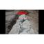 「ロックラック」破砕例 コンクリート破砕 製品画像