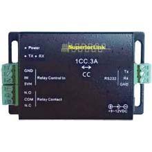 1系統接点信号⇔シリアル信号変換 双方向接点信号伝送装置 製品画像