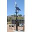 小型風力発電システム『マブチ・ハイブリッドポールII』 製品画像
