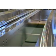 半導体製造装置/液晶製造装置用ゲートバルブ製品の加工 製品画像