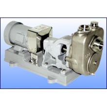 工場などの水処理にも適した「ステンレス製自吸式うず巻ポンプ」 製品画像