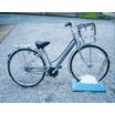 独立型駐輪台 チャリンコキャッチャー『とま輪くん・富士とま輪』 製品画像
