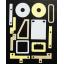 熱伝導性テープ/電子機器・LED照明等の放熱対策に! 製品画像
