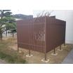 【クラティスエコ 使用事例】エクステリア フェンス 製品画像