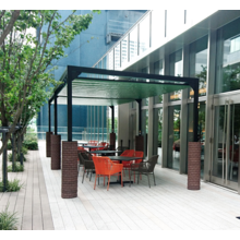 テラスを簡単に屋根付きスペースに!自立型オーニング『リパーロ』 製品画像