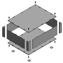 フリーサイズアルミケース - 1mm単位で寸法指定可能 製品画像