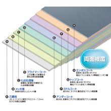 着色耐酸フッ素樹脂被覆鋼板『ORIENTAL フッソライト』 製品画像