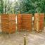 木製遊具 ロッククライミングウォール W-110 製品画像