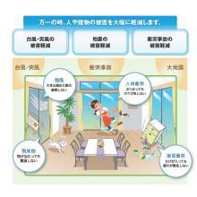 災害被害を抑える「防災安全ガラス」【※選び方ガイドブック進呈】 製品画像