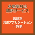 多言語対応 翻訳サービス 製品画像