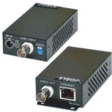 同軸ケーブルIP伝送器(コンポジット映像伝送機能付)IP02E 製品画像