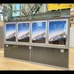 【ポスターグリップ導入事例】JR東日本様(高輪ゲートウェイ駅) 製品画像
