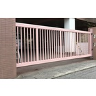 【ノンレール門扉】土間にレールを一切設置しないスライド式門扉 製品画像