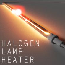 塗料・インク・糊などの高速乾燥ができる『ハロゲンランプヒーター』 製品画像
