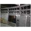 精密板金加工大型製作事例 鉄道監視システムモニター棚 製品画像