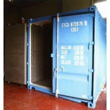 遮蔽率97%~99.6%!10ft放射性物質保管運搬用コンテナ 製品画像