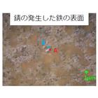 顕微ラマンによる金属腐食の分析 製品画像