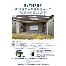 3D点群データ計測サービス「BeTHERE」 製品画像