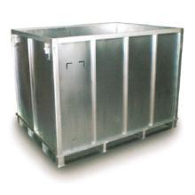 リターナブル/再利用可能な分割折畳み構造 輸送用スチールBOX 製品画像