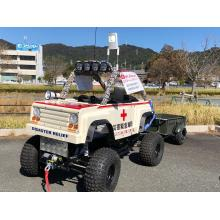 災害救助・物資運搬に!ミニ四輪車『Mr. Rescue』 製品画像