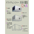 【Q&A】業務用小型除湿機『ドライチェンジャー 天吊/天置型』 製品画像