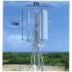 垂直軸型マグナス式風力発電機 製品画像