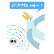 鳥類飛来防止『バードストッパー・チェーンタイプ4500G』 製品画像