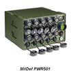 MilDef社 堅牢3U電源 PWR500シリーズ 製品画像