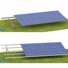 太陽光電池 地面設置用架台『GRACE SOLAR』 製品画像