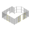組立式安全柵・セーフティーアルミフェンス『ブロックフェンス』 製品画像