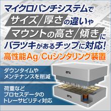 AMX社製シンタリング装置 製品画像