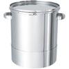 鏡板型ステンレス密閉容器(バンド式) 【DT-CTL】 製品画像