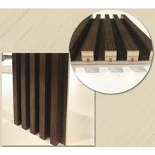 【天然木練付造作材】リブパネル加工 製品画像