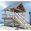 【木製】休憩施設/展望台【登山道、海岸、観光地、観察小屋など】 製品画像