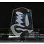 重合接着・ハブ加工・ブラストによるアクリル品 展示会サンプル1 製品画像