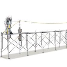 スライド式ラックガードシステム『アルミ親網支柱』 製品画像
