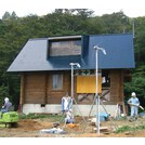 【施工実績】九頭竜ダム避難小屋で採用のバイオトイレ