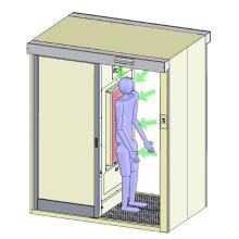 異物混入対策に!エアシャワー「背吸の塵(はいすいのじん)」 製品画像