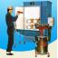 粉体回収機 レーズクロン 回収式/粉体塗装ブース 製品画像