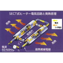 鋼管発熱式融雪・凍結防止『SECTヒーター』 製品画像
