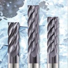 鏡面仕上げの超硬切削工具『トロコイド加工エンドミル』 製品画像
