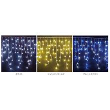 LEDイルミネーション216球つららライトでライトアップ! 製品画像