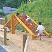 木製遊具 ネットクライミング W-609 製品画像