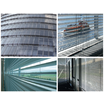 ビル用日射制御システム『ダブルスキン用ブラインド』 製品画像