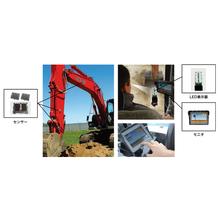 油圧ショベル用アクセサリ2Dマシンガイダンスシステム『iDig』 製品画像