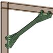 〈建設技術審査証明を取得〉無溶接方杖補強「スマートアタッチ工法」 製品画像